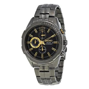 SEIKO Recraft Black Dial Chronograph SSC395 SEIKO Recraft Black Dial Chronograph SSC395